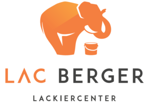 LAC Berger Lackiercenter Logo weiß